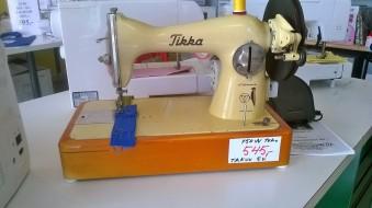 Made in Finland Tikka! Sähköistetty, voimakäsipyörällä, kolminkertainen teho, kaikki teräsosia! Takuu 5.v.